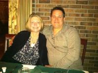 David and Laura, April 16, 2011