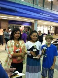 Straight A Honor Roll Award Winners!